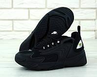 Кроссовки мужские Nike ZooM 2K реплика ААА+ размер 41-45 черный (живые фото), фото 1