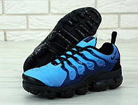 Кроссовки мужские Nike Air VaporMax реплика ААА+ размер 41-45 синий (живые фото), фото 1