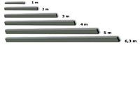 Правило алюминиевое 4м SPEKTRUM