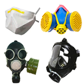 Респираторы, полумаски, полнолицевые маски, противогазы, фильтра