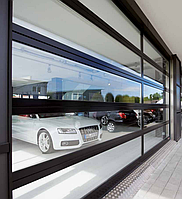Секционные ворота Hörmann ALR F 42 Glazing  3 х 3 м, фото 1
