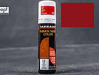 Жидкий краситель для замши и нубука Tarrago Nubuck Suede Color, 75 мл,  цв. красный