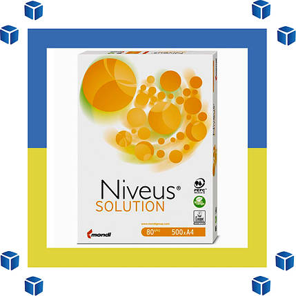 Офисная Бумага А4 Niveus SOLUTION (класс C/80 г/м²/лучшие цены), фото 2