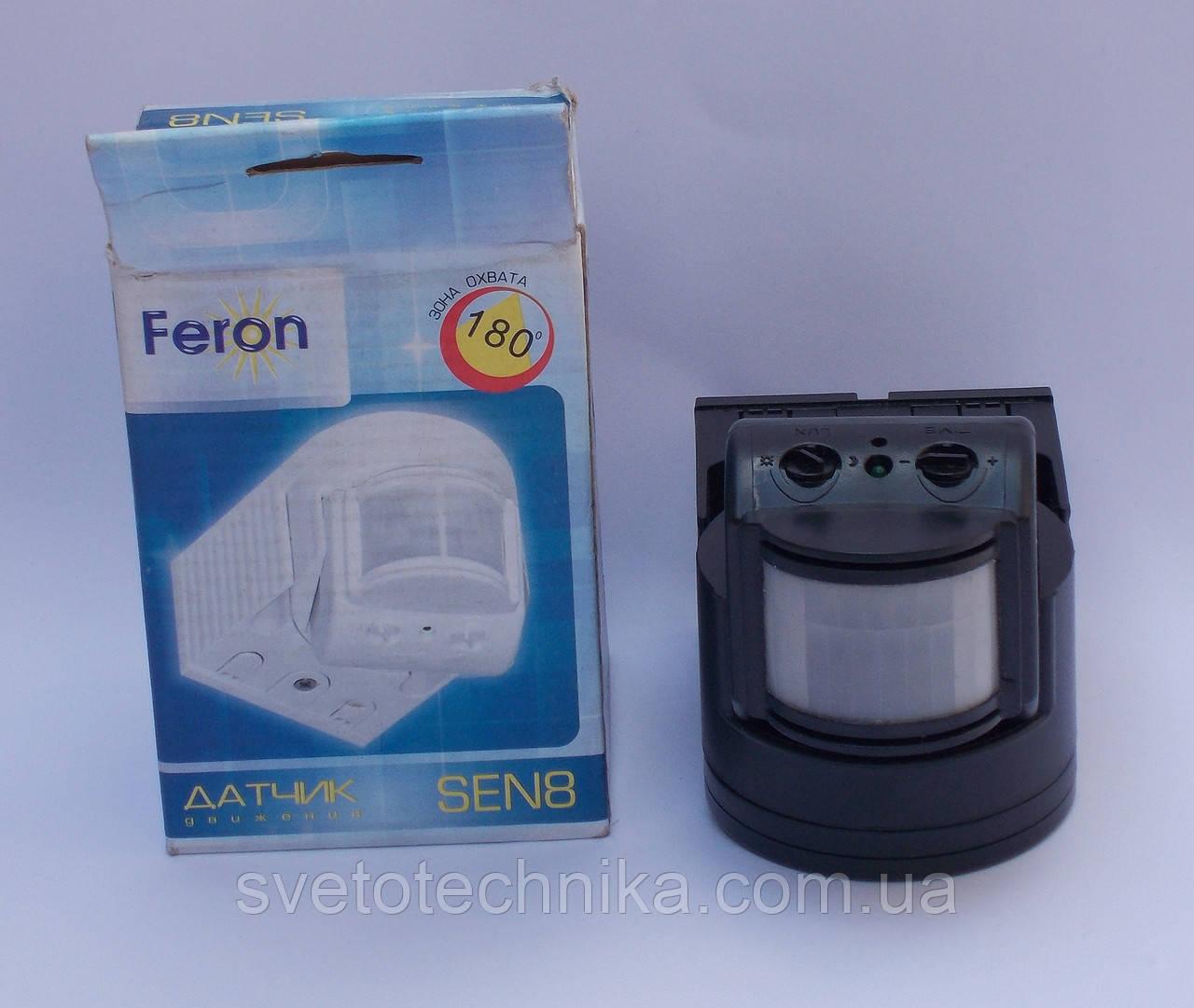 Датчик движения Feron SEN8 (чёрного цвета)