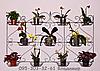 """Подставка для цветов на 11 чаш """"Плющ"""""""