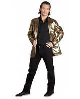 Пиджак  золотистый