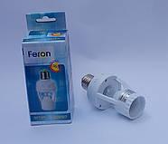 Датчик движения с цоколем  Feron SEN127