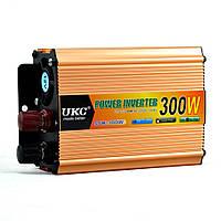 Преобразователь напряжения(инвертор) 12-220V 300W + USB Gold