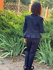 Пиджак подростковый на девочку 140-152см., фото 2