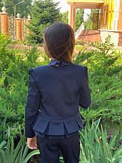 Пиджак подростковый на девочку 140-152см., фото 3