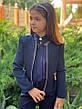 Пиджак подростковый на девочку 140-152см., фото 4