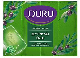 Мыло DURU Natural Olive с экстрактом оливкового масла (4*150г.)