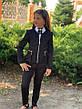Пиджак школьный на девочку 122-134см, фото 4