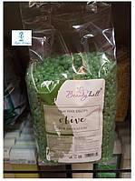 Воск в гранулах BeautyHall Hot Film Wax Olive низкотемпературный 1000 грамм