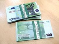 Деньги сувенирные 100 евро