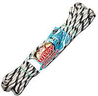Веревки лодочные (7mm/10m) плетеные, рябые