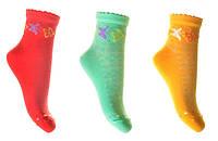 Детские носки летние имитация сетки арт.853