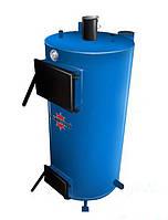 Твердотопливный котёл-батарея длительного горения КВГ (ГВС) - 100
