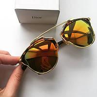Очки солнцезащитные женские Dior So Real леопард , магазин очков