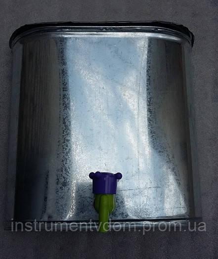 Рукомойник оцинкованный 12л (с краном)