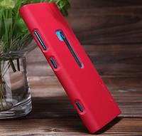Чехол Nillkin для Nokia Lumia 920 красный  (+пленка)