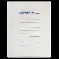 Скоросшиватель JOBMAX, А4 картон Buromax (UA)