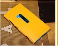 Чехол Nillkin для Nokia Lumia 920 жёлтый (+пленка), фото 1