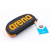 Чехол для очков ARENA GOGGLE CASE (черный-оранжевый)