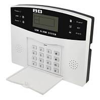 Сигнализация для дома или квартиры комплект GSM Alarm System PG500 plus Черный с белым