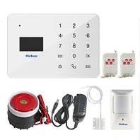 Сигнализация для дома или квартиры комплект GSM Alarm System Marlboze А2 modern plus Белый