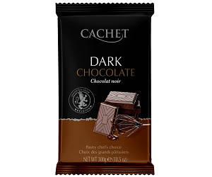 Черный шоколад Cachet какао 53% 300 г