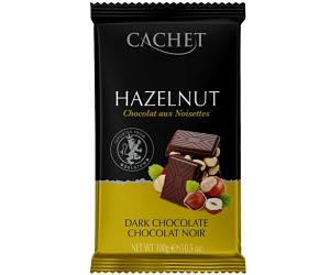 Черный шоколад Cachet Фундук 300 г