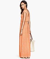 Оранжевое  платье H&M, фото 1