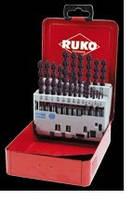 Набор сверл по металлу RUKO 258 850 F
