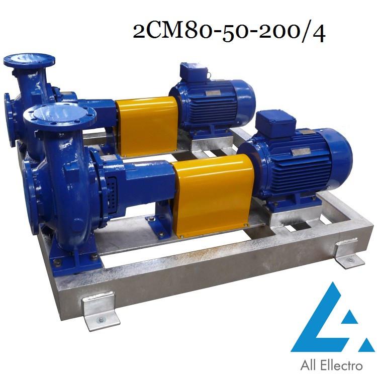 Насос 2СМ80-50-200/4 (насос 2СМ 80-50-200/4)
