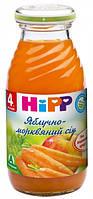 Яблочно-морковный сок хипп hipp HIPP, 200мл