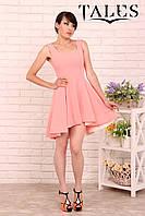 Платье коктейльное Mila_peach