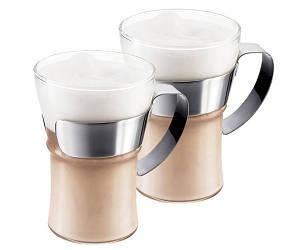 Набор Bodum Assam 2 стакана х 350 мл со стальной ручкой (4553-16)