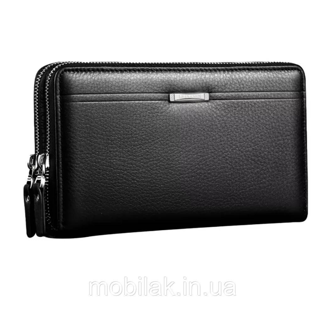 Мужская деловая сумка-кошелек Aelicy Black