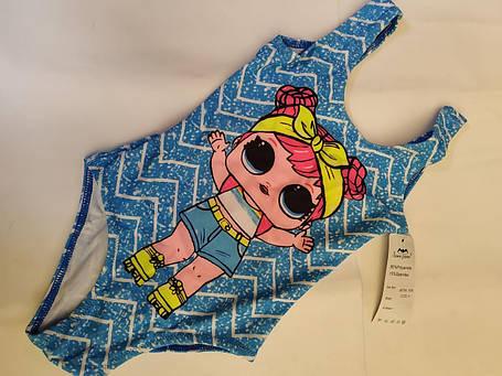 Купальник детский SAME GAME 8360 Алишка голубой (есть размеры 2 4 6 8 10), фото 2