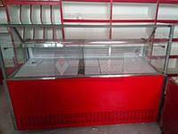 "Витрина холодильная ""Пальмира куб -1.2 Модерн"" (0..+8), выкладка 590 мм, фото 1"