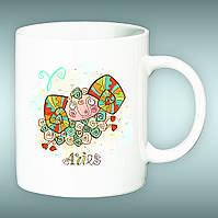 """Чашка со знаком зодиака """"Овен"""". Печать на чашках"""