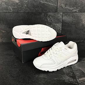 Мужские кроссовки Nike Air Max белые, фото 2
