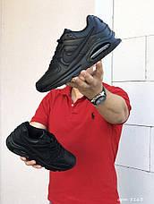 Мужские кроссовки Nike Air Max,черные, фото 2