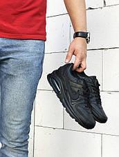 Мужские кроссовки Nike Air Max,черные, фото 3