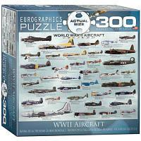 Классический пазл EuroGraphics Самолеты 2-й Мировой войны 300 элементов (8300-0075)
