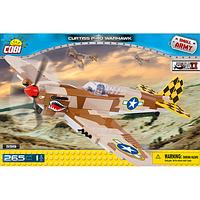 Конструктор Cobi Вторая Мировая Война Самолет Кертисс P-40 Вархавк (COBI-5519)