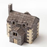 """Керамический конструктор из мини кирпичиков """"Gravik"""" Английский дом"""