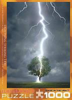 Классический пазл EuroGraphics Молния ударяющая в дерево 1000 элементов  (6000-4570)
