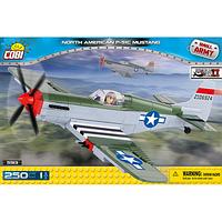 Конструктор Cobi Вторая Мировая Война Самолет Мустанг (COBI-5513)